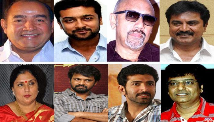 8 நடிகர்கள் மீதான வழக்கை விசாரிக்க தடை: ஐகோர்ட்டு