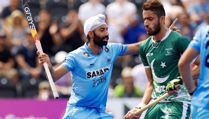 ஹாக்கி உலக லீக் அரை இறுதி: 7-1 என்ற கோல் கணக்கில் பாகிஸ்தானை வென்ற இந்தியா