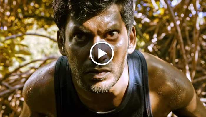 விஷாலின் 'துப்பறிவாளன்' படத்தின் டீசர் ரீலீஸ்!!