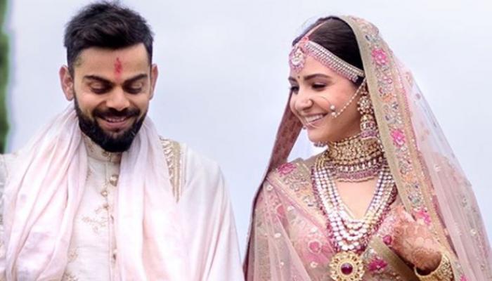 விராட் கோலி மற்றும் அனுஷ்கா ஷர்மா - திருமண புகைப்படங்கள்!