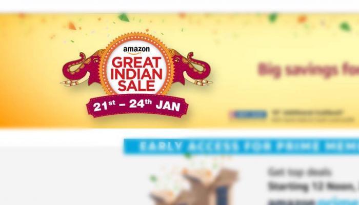முந்துங்கள்: மீண்டும் வருகிறது அமேசான் Great Indian Sale!