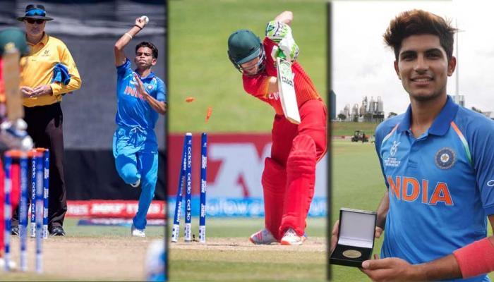 U19CWC: 10 விக்கெட் வித்தியாசத்தில் வெற்றி பெற்ற இந்தியா
