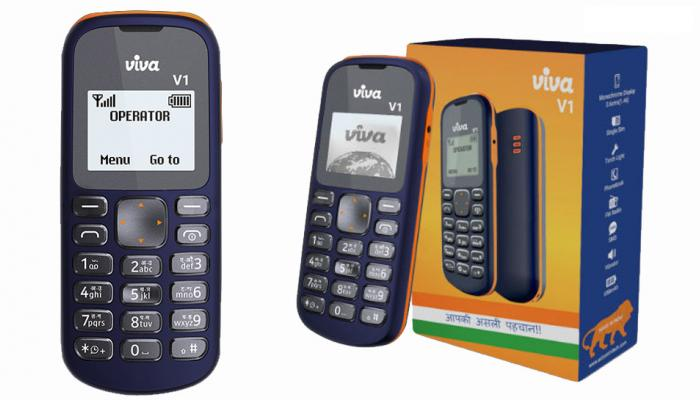 Viva V1 feature phone வெறும் ரூ.349-க்கு அறிமுகம்!