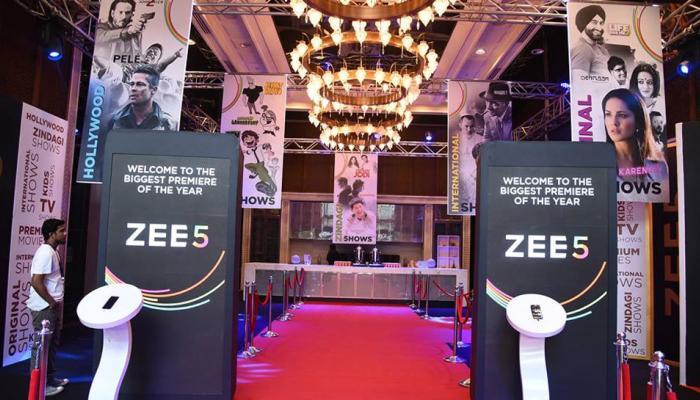12 மொழிகளில் Zee குழுமத்தின் ZEE5 இணையதளம்!