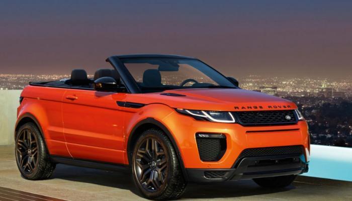 மாற்றத்தக்க SUV Range Rover Evoque தற்போது இந்தியாவில்!