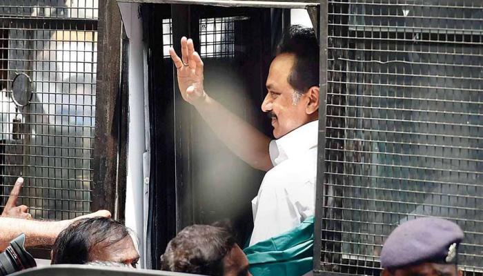 #CauveryIssue: துரோகத்துக்குத் துணைபோன அதிமுக -MK ஸ்டாலின்!