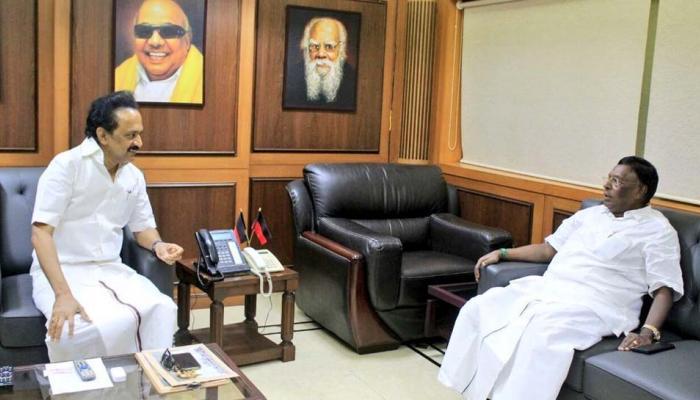 #Cauvery: MKS - புதுவை முதல்வர் சந்திப்பு மாற்றம் தருமா?