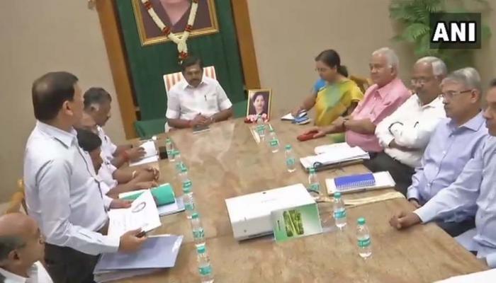 #CauveryIssue: சட்ட வல்லுநர்களுடன் முதல்வர் ஆலோசனை!