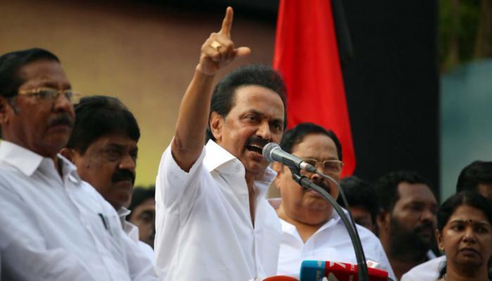 #CauveryIssue: ஸ்டாலின் தலைமையில் தமிழகத்தில் இன்று மனித சங்கிலி!