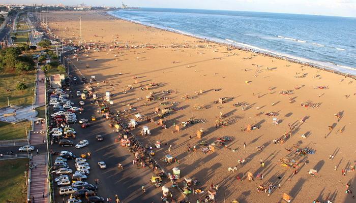 #CauveryIssue: மெரினாவில் போலீஸ் பாதுகாப்பு தீவிரம்!