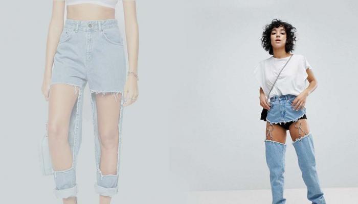 SeePics: இணையத்தை கலக்கும் Buttless jeans!