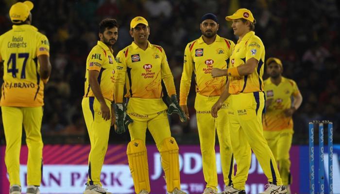 IPL 2018: டாஸ் வென்ற சென்னை அணி முதலில் ஃபவுலிங்