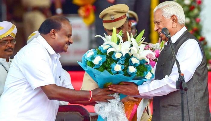 #Karnataka நம்பிக்கை வாக்கெடுப்பில் HD குமாரசாமி வெற்றி!!