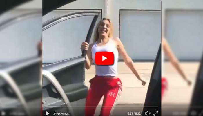 Video: Car-ஐ காற்றில் பறக்க வைத்த புதுவித KiKi Challenge!
