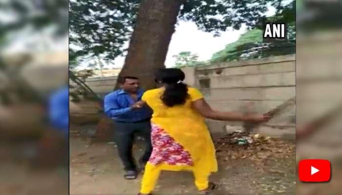 Video: கடன் கொடுக்க மறுத்த வங்கி அதிகாரிக்கு நடுரோட்டில் தர்மஅடி!