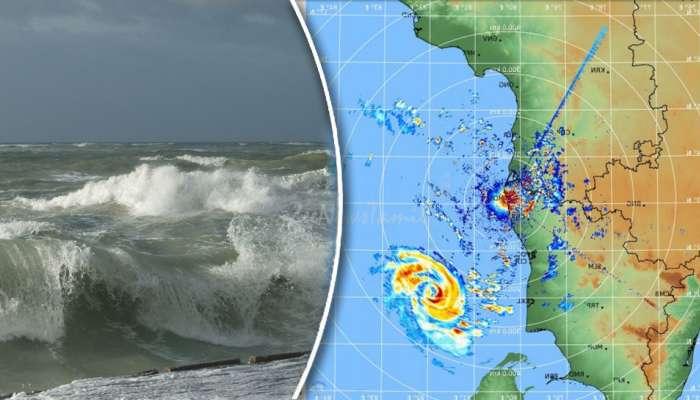#GajaCycloneUpdate: இரவு 10 மணிக்கு பிறகு கரையை கடக்கும் கஜா புயல்...