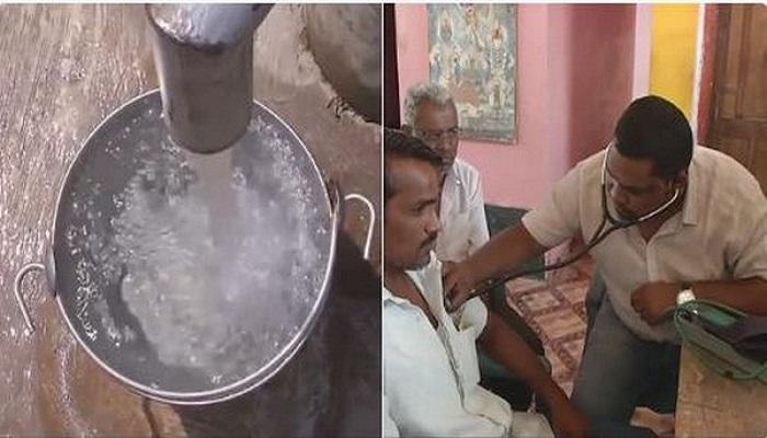 విషపూరిత నీళ్లు తాగి 14 మంది మృతి