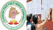 తెలంగాణ: గ్రూప్-4 పరీక్ష ప్రాథమిక 'కీ' విడుదల