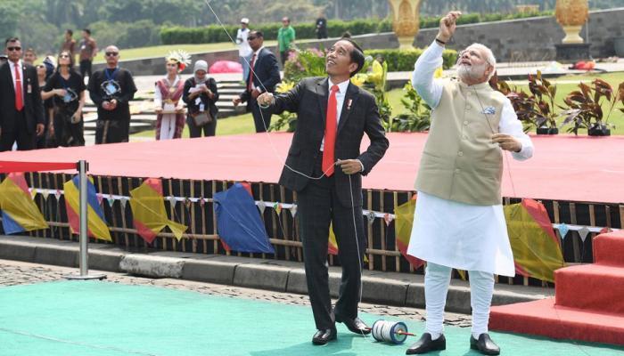 చిత్ర మాలిక: భారత ప్రధాన మంత్రి నరేంద్ర మోదీ ఇండోనేషియా పర్యటన