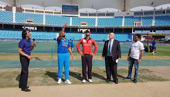 ఆసియా కప్ 2018 ఇండియా vs హాంగ్ కాంగ్: టాస్ గెలిచిన హాంగ్ కాంగ్