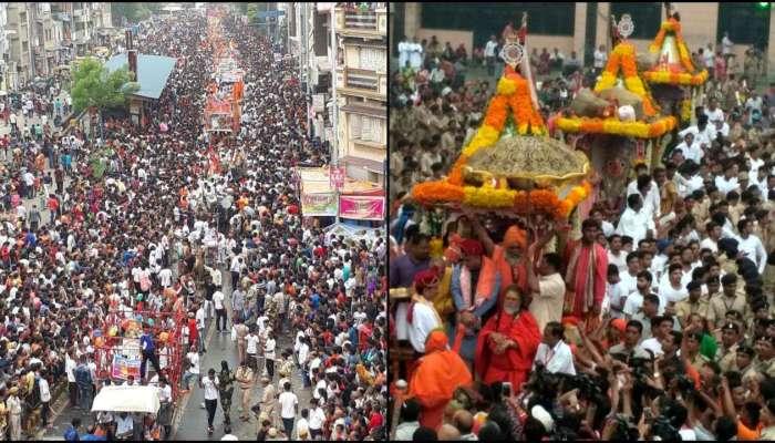 చిత్రమాలిక: పూరీ, అహ్మదాబాద్లలో కనులపండువగా జగన్నాథ రథయాత్ర